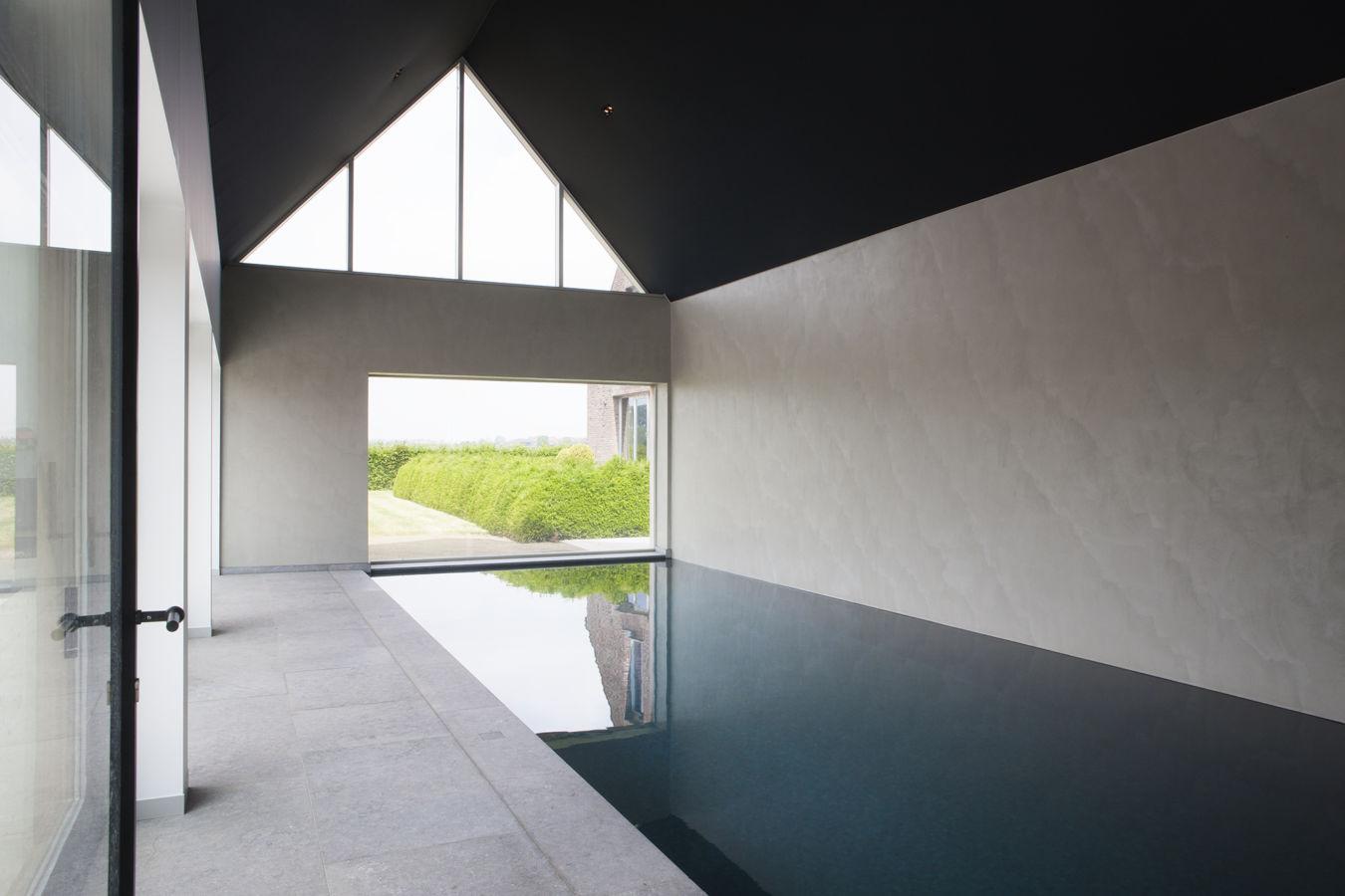 minimalistisch binnenbad
